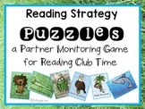 Reading Strategies Puzzles for Partner Reading Activities