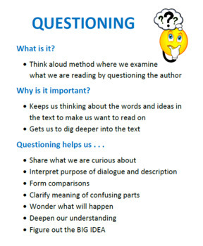 Reading Strategies: Introducing Questioning