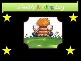 Reading Strategies: Reading Log (Weekly)