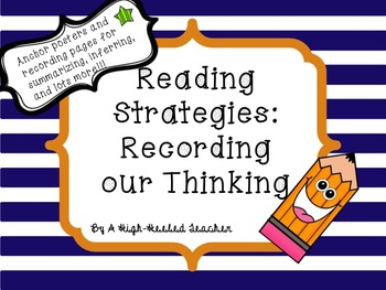 Reading Strategies: Recording our Thinking
