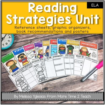 Reading Strategies: Reference Sheets, Posters, & Graphic Organizers