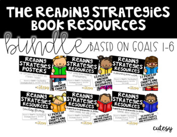 The Reading Strategies Book Resources BUNDLE