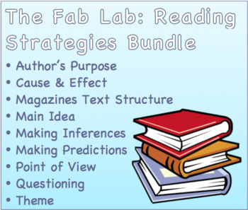 Reading Strategies SMART NOTEBOOK Bundle