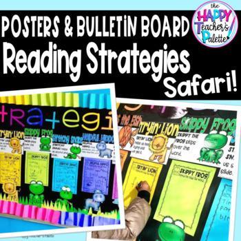 Reading Strategies Safari ~Decoding Posters*Bulletin Board