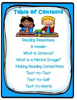 Schema, Imagery,Text Connection, Mental Images (Reading Strategies)