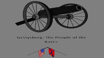 Reading Strategies Short Answer Bundle: Gettysburg People of the Battle