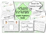 Reading Literacy Graphic Organizers Bundle - Strategies & Skills