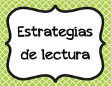 Reading Strategies (Spanish)