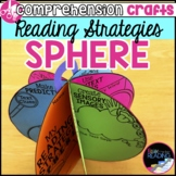 Reading Strategies Sphere Craft: Reading Comprehension Strategies Activity