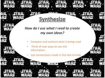 Reading Strategies: Star Wars Theme