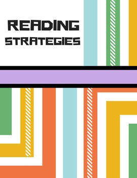 Reading Strategies Sticky Note Holder for Students (Design 2)