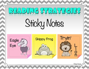 Reading Strategies - Sticky Notes