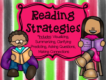 Reading Strategies Bundle (Student Activities and Graphic Organizers)