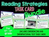 Reading Strategies Task Card Bundle! Inferences/Informatio
