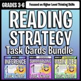 Reading Strategies Task Card Mini Bundle: Inference, Main Idea, Summarizing