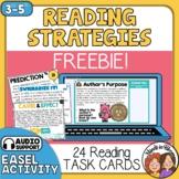 Reading Strategies Task Cards - FREE! Inference, Summarizing, Author's Purpose +