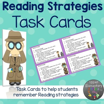 Reading Strategies Task Cards