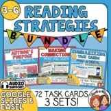 Reading Strategies Task Card Mini Bundle: Author's Purpose, Connections, Summary