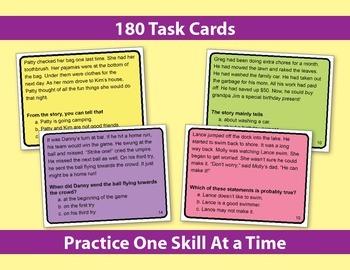Reading Strategies Task Cards: Keys to Comprehension {Bundle}