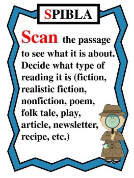 STAAR Test Prep Unit- Includes Fun Passage Reading Strategy System