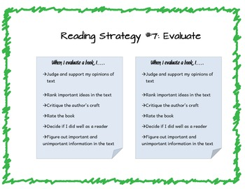 Reading Strategies Toolbox