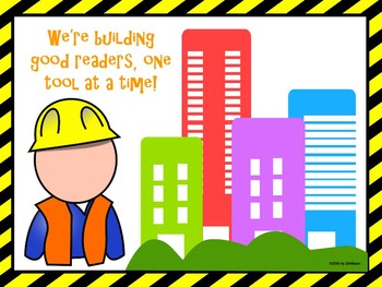 Reading Strategies Toolbox: Construction Themed