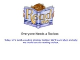 Reading Strategies Toolbox PowerPoint MiniLesson