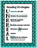 Reading Strategies UNRREAL - Teal Dots