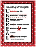 Reading Strategies UNRREAL - Red Dot