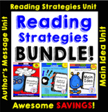 Reading Strategies Unit BUNDLE, Smartboard & PDF