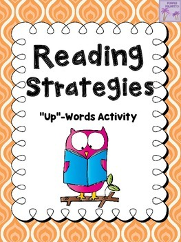 "Reading Strategies ""Up""-Words Activity"