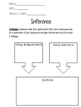 Reading Strategies Video Shorts QRs and Worksheets