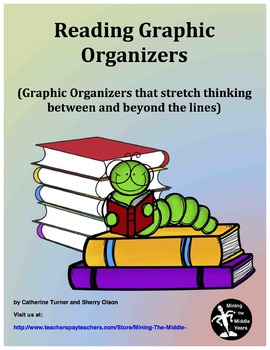 Reading Graphic Organizers and Activities for novels or sh