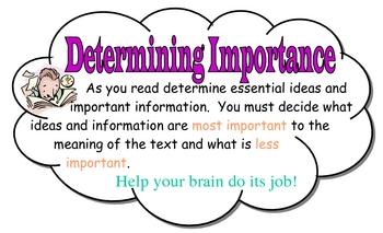 Reading Strategies and Skills Mini Posters