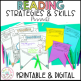 Reading Strategies and Skills Pennants