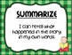 Reading Strategies and Skills Posters and Graphic Organizers Set