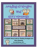 Reading Strategies and Story Elements Foldable Study Guide