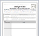 Reading Strategies and Thinking Stems Bookmark and Student Log