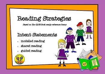 Reading Strategies Based on The CAFE Book Ready Reference Forms