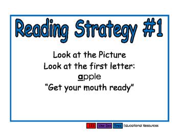 Reading Strategies blue