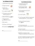 Reading Strategies (bookmark)