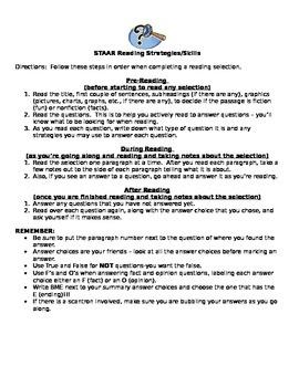 Reading Strategies for 3rd Grade
