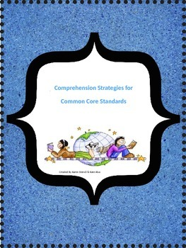Interactive Reading Strategies Notebook for 2-5 (aligned to CC Standards)