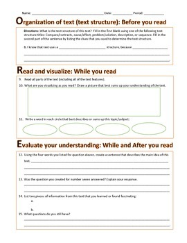 Reading Strategies for Non-fiction Texts