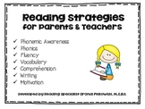 How to Help Your Child Become a Better Reader and Writer - Parent Packet
