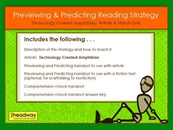 STEM Reading Strategy