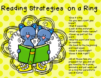Reading Strategies on a Ring (SOAR) for parents