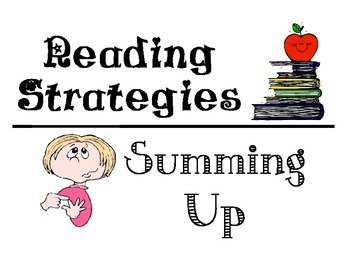 Reading Strategies poster (Print and Post)