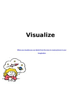 Reading Strategies - visualization 2nd and 3rd grade