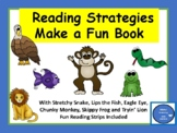 Reading Strategies with Stretchy Snake & Friends-Make a Fun Book